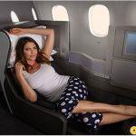 Ích kỉ chiếm chỗ quá nhiều trên máy bay