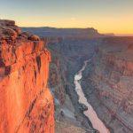 Đón hoàng hôn ở công viên Grand Canyon Mỹ