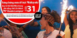 Air Asia KM vé máy bay đi Malaysia