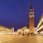Quàng trường Piazza San Marco về đêm