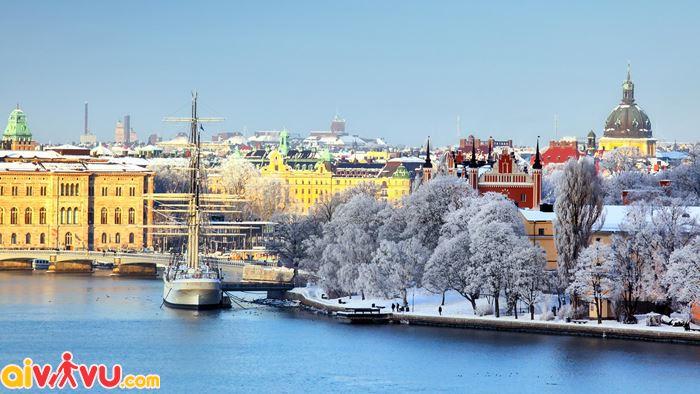 Mùa đông tuyệt vời ở thủ đô Stockholm