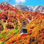 Trải nghiệm du lịch ở Tateyama Kurobe Alpen mùa thu