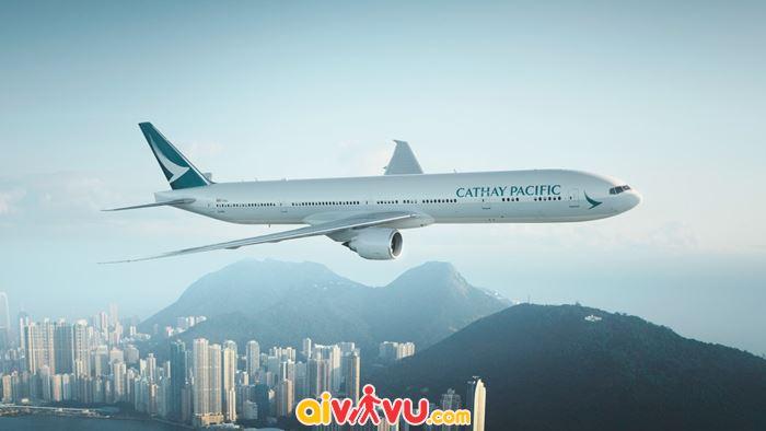 KM Cathay Pacific cho hành trình đến Mỹ từ VN