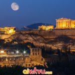 Màn đêm huyền bí ở Athens Hy Lạp