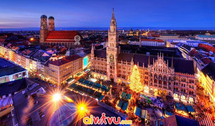 Vẻ đẹp của thành phố Munich