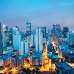 Vẻ đẹp thành phố Manila về đêm.