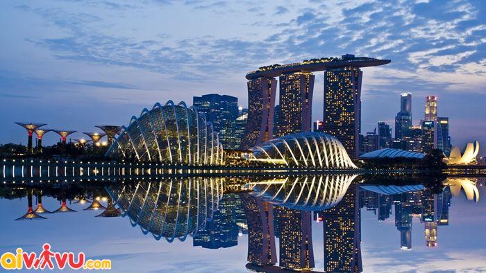 Vẻ đẹp ở quốc đảo Singapore