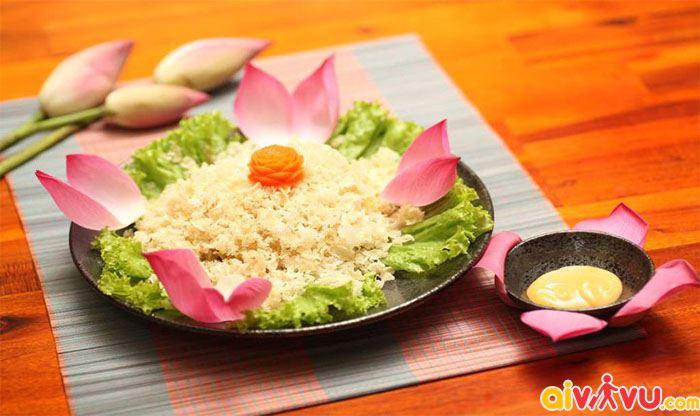 Món cơm chay thanh tịnh tại Huế
