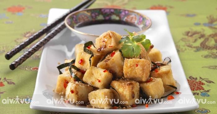Fried Tofu món ăn đặc sắc tại Yangon
