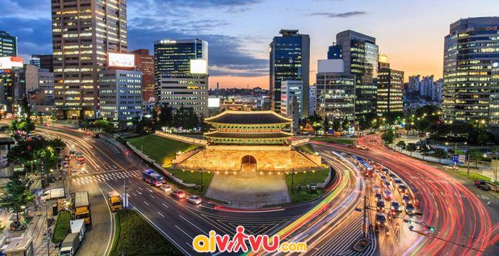 Vẻ đẹp quyến rũ về đêm ở Seoul