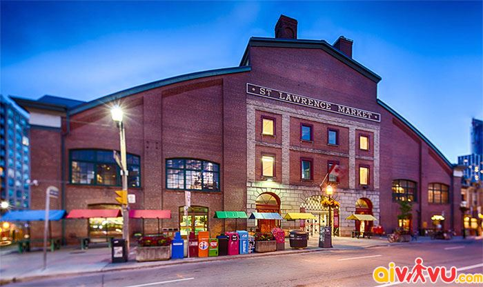 St. Lawrence Market lớn nhất tại Canada