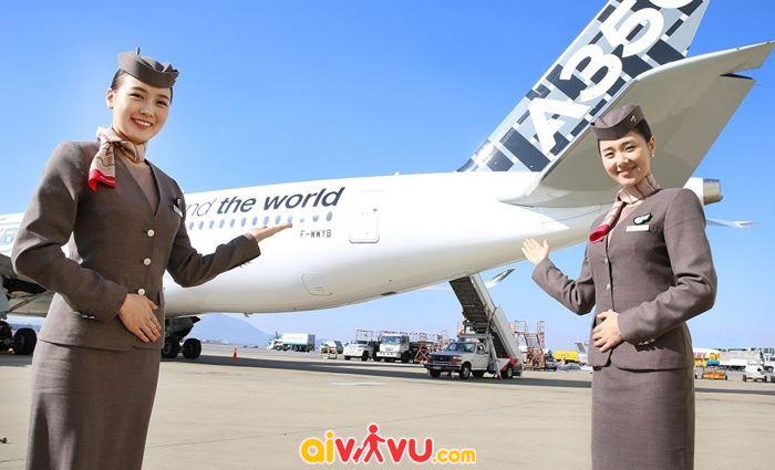 Asiana Airlines mở bán vé khứ hồi chỉ từ 2.692 USD