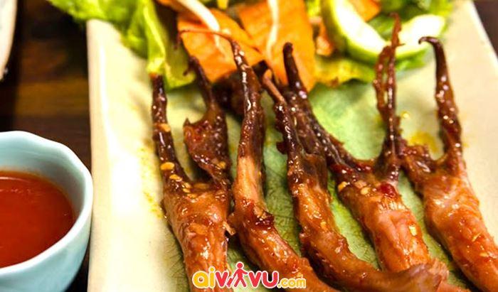 Lưỡi vịt sốt ngũ vị Quảng Châu