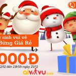 Jetstar KM vé chỉ từ 24.000 Đ mùa Giáng Sinh