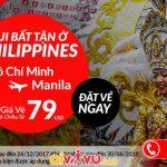 Air Asia KM vé máy bay đi Philippines chỉ từ 79 USD