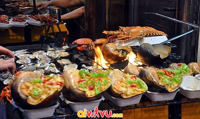 Món ngon đường phố Đài Bắc