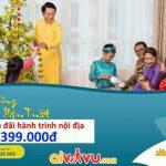 Vietnam Airlines KM vé khứ hồi chỉ từ 399.000 VND