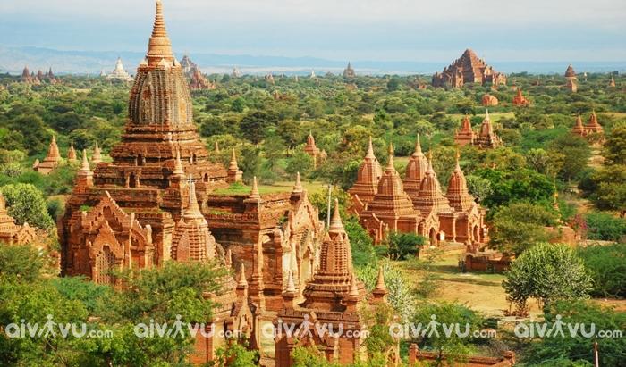 Thành phố cổ Bagan điểm đến hấp dẫn tại Yangon