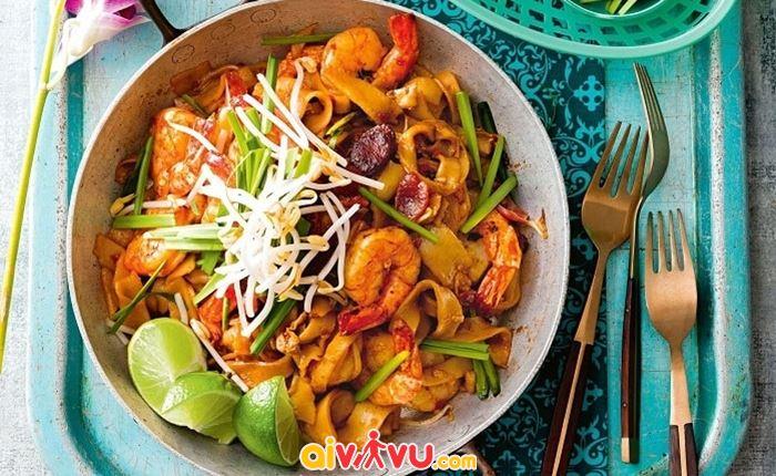 Món Char Kway Teow ngon miệng