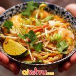 Nếm thử mì Curry laksa and Assam laksa