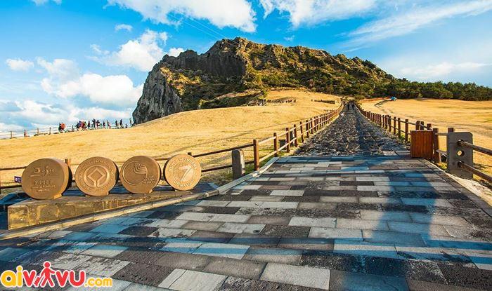 Cung đường đi như mơ ở đảo Jeju