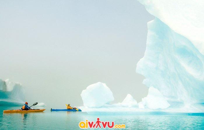 Ngắm băng trôi ở công viên quốc gia Kenai Fjords