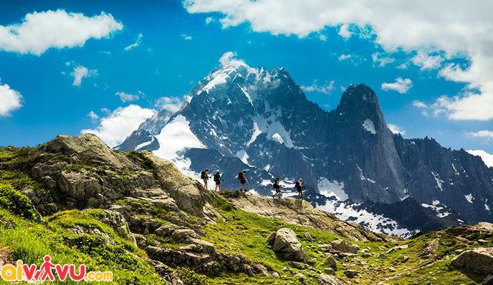 Chinh phục đỉnh núi Mont Blanc
