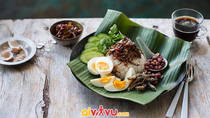 Món Nasi lemak truyền thống