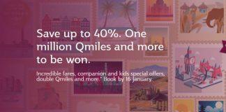 Qatar Airways giảm giá vé đến 40%