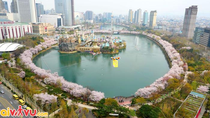 Toàn cảnh vẻ đẹp hồ Seokchon