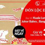 Air Asia mở bán vé một chiều bay châu Á chỉ từ 31 USD