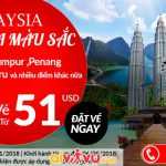 Air Asia mở bán vé máy bay đi Malaysia giá rẻ
