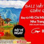Air Asia giảm giá vé đi Bali đến 50%
