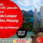 Air Asia giảm giá vé đi Malaysia đến 70%