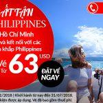 Air Asia mở bán vé máy bay đi Manila giá rẻ