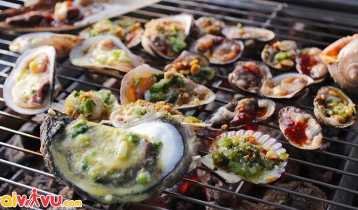 Ngây ngất hương vị món bào ngư nướng