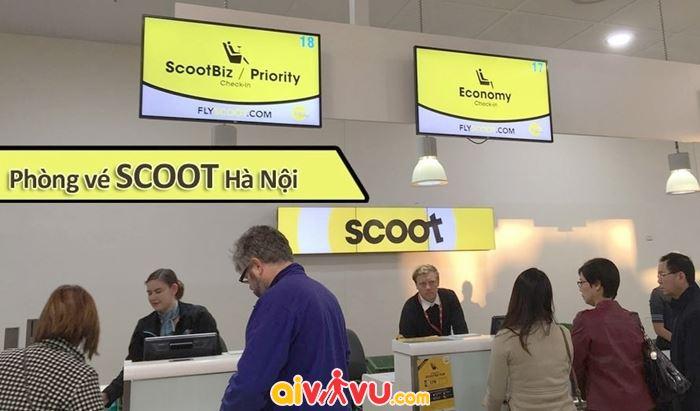 Liên hệ đại lý Scoot tại VN theo Hotline 1900 6695 để tiến hành hoàn đổi vé