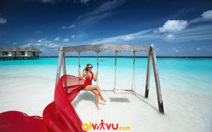 Tận hưởng kì nghỉ sang chảnh ở Maldives
