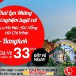 Air Asia khuyến mãi vé đi Bangkok - Thái Lan giá rẻ