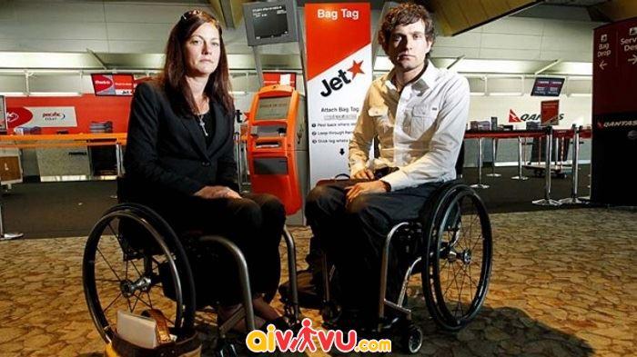 Jetstar hỗ trợ xe lăn cho hành khách là người khuyết tật