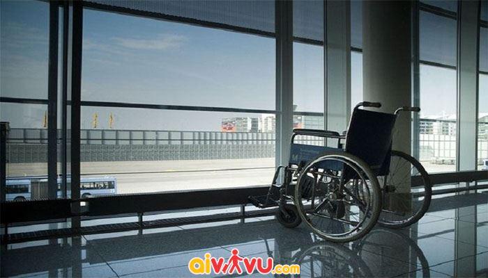 Vietnam Airlines hỗ trợ vận chuyển xe lăn miễn phí