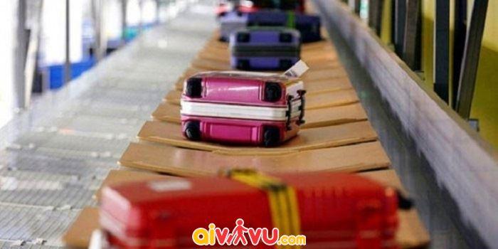 Hành lý ký gửi vượt quá số cân quy định sẽ bị tính phí