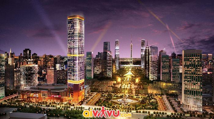 Đến Quảng Châu di chuyển đến thành phố Thường Châu cũng khá dễ dàng