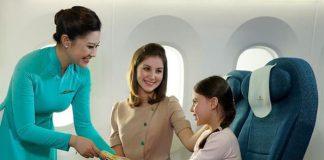 Quy định trẻ em đi máy bay Vietnam Airlines