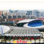 Đến Sân vận động Olympic Thường Châu cổ vũ cho Đội tuyển Việt Nam