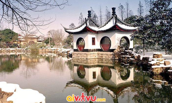 Tại Thường Châu những ngày này đang có tuyết rơi