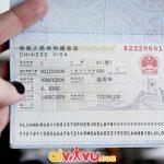 Xin visa đi Trung Quốc gấp
