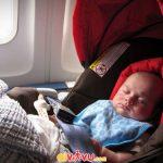 Xe đẩy em bé sẽ không bi tính phí hành lý quá cỡ