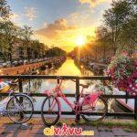 Amsterdam - Đẹp mê mẩn qua từng khung hình