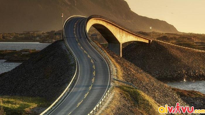 Con đường Atlantic đầy thử thách